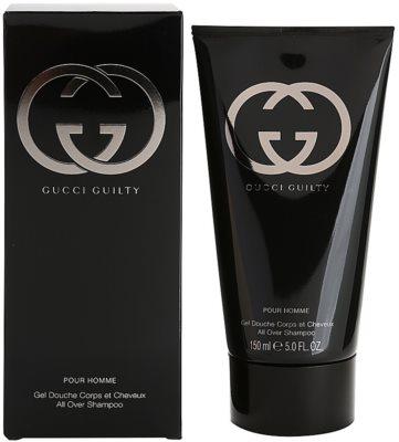 Gucci Guilty Pour Homme tusfürdő férfiaknak