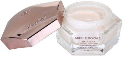 Guerlain Abeille Royale para pescoço e decote restauração intensiva e esticamento da pele 1
