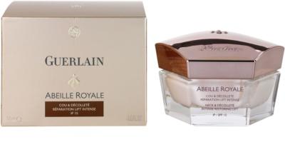 Guerlain Abeille Royale para pescoço e decote restauração intensiva e esticamento da pele 3