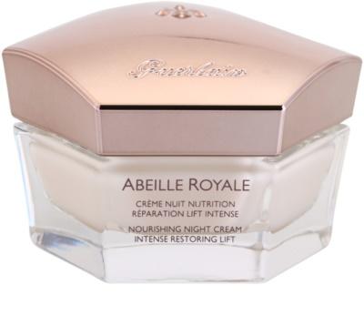 Guerlain Abeille Royale crema de noapte pentru a restabili fermitatea pielii