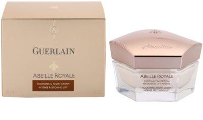 Guerlain Abeille Royale crema de noapte pentru a restabili fermitatea pielii 3