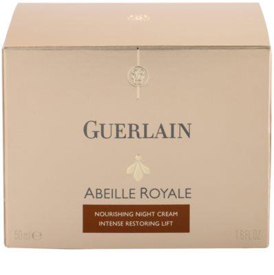 Guerlain Abeille Royale crema de noapte pentru a restabili fermitatea pielii 4