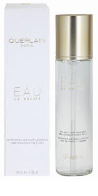 Guerlain Beauty agua micelar limpiadora para rostro y ojos 1