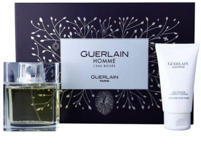 Guerlain Homme L´Eau Boisée coffret presente