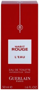 Guerlain Habit Rouge L´EAU туалетна вода для чоловіків 4