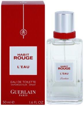 Guerlain Habit Rouge L´EAU Eau de Toilette pentru barbati