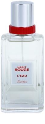 Guerlain Habit Rouge L´EAU туалетна вода для чоловіків 2