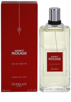 Guerlain Habit Rouge woda toaletowa dla mężczyzn