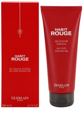 Guerlain Habit Rouge gel de ducha para hombre