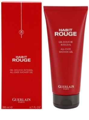Guerlain Habit Rouge gel za prhanje za moške
