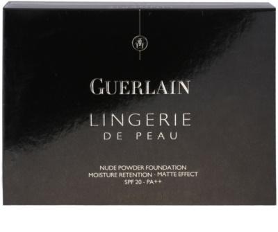 Guerlain Lingerie De Peau puder nawilżający z efektem matującym SPF 20 3