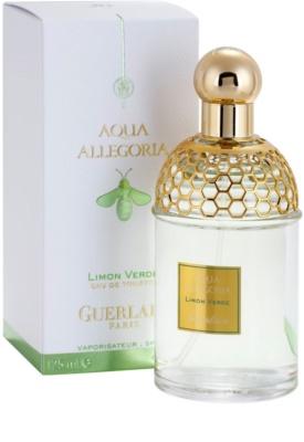 Guerlain Aqua Allegoria Limon Verde Eau de Toilette unissexo 1