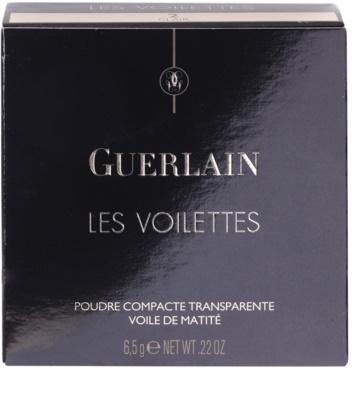 Guerlain Les Voilettes matující transparentní pudr 5