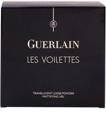 Guerlain Les Voilettes sypký transparentní pudr 3