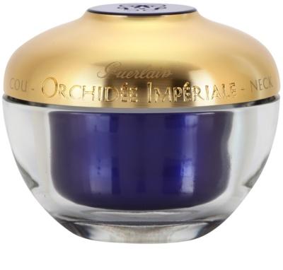 Guerlain Orchidee Imperiale para pescoço e decote para firmeza de textura rica de pele