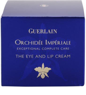 Guerlain Orchidee Imperiale krema za ustnice in predel okoli oči z izvlečkom orhideje 4