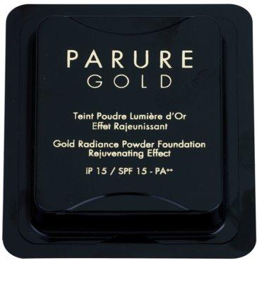 Guerlain Parure Gold polvos de maquillaje rejuvenecedores SPF 15 con colágeno Recambio 2