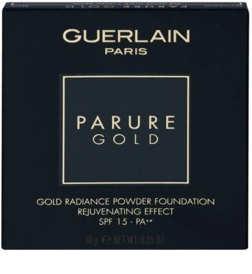 Guerlain Parure Gold polvos de maquillaje rejuvenecedores SPF 15 con colágeno Recambio 3