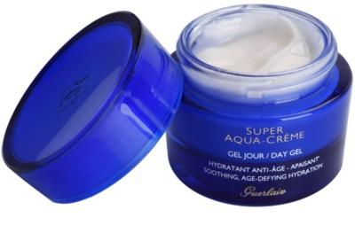 Guerlain Super Aqua gel hidratante para apaziguar a pele 1