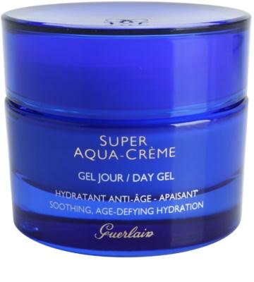 Guerlain Super Aqua hidratáló gél az arcbőr megnyugtatására