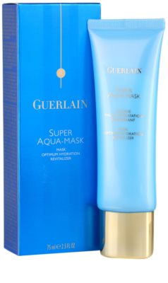 Guerlain Super Aqua feuchtigkeitsspendende Gesichtsmaske 1