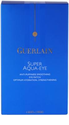 Guerlain Super Aqua hydratační maska na oční okolí 2