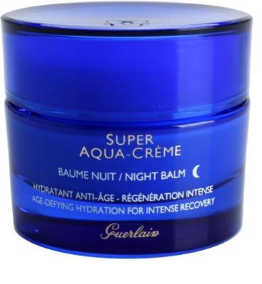 Guerlain Super Aqua balsam nawilżający na noc intensywnie regenerujący skórę