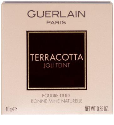 Guerlain Terracotta Joli Teint Duo Bräunungspuder für das gesunde Aussehen der Haut 2