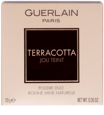Guerlain Terracotta Joli Teint duo bronz puder za zdrav videz kože 2