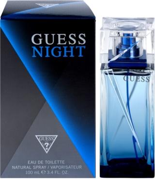 Guess Night eau de toilette férfiaknak