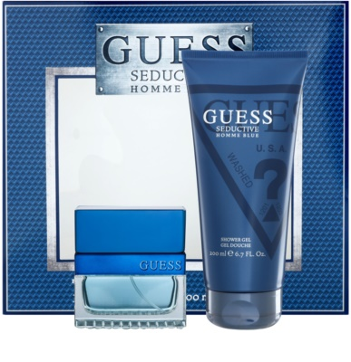 Guess Seductive Homme Blue lote de regalo 1