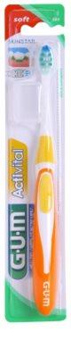 G.U.M Activital Ultra Compact Zahnbürste mit Kurzkopf weich