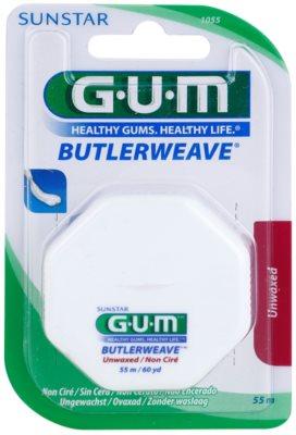 G.U.M Butlerweave fio dental sem cera