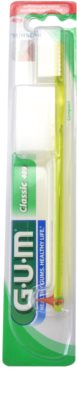 G.U.M Classic Compact zobna ščetka z gumijastim spodbujevalnikom soft