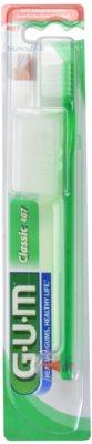 G.U.M Classic Small zobna ščetka z gumijastim spodbujevalnikom soft