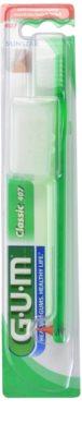 G.U.M Classic Small zubní kartáček s gumovým stimulátorem soft
