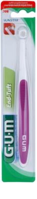 G.U.M End-Tuft escova de dentes com múltiplas cerdas soft