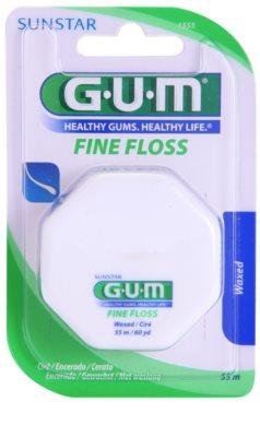G.U.M Fine Floss fio dentário ceroso