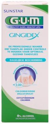 G.U.M Gingidex 0,06% Mundwasser gegen Plaque für gesundes Zahnfleisch ohne Alkohol 2