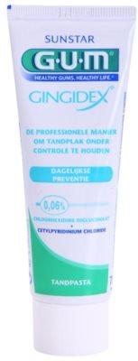 G.U.M Gingidex 0,06% fogkrém a foglepedék ellen és az egészséges ínyért