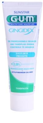 G.U.M Gingidex 0,06% zobna pasta proti zobnim oblogam in za zdrave dlesni