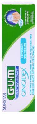 G.U.M Gingidex 0,06% Anti-Plaque Zahnpasta für gesundes Zahnfleisch 2