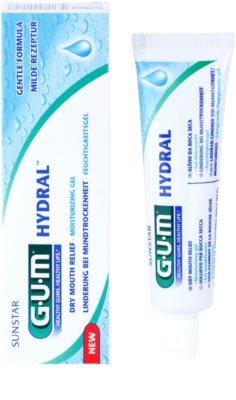 G.U.M Hydral hydratační gel na zuby, jazyk a dásně 2