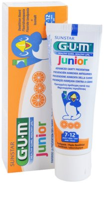 G.U.M Junior dentífrico 1