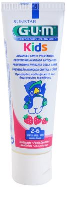 G.U.M Kids gel dental para niños sabor fresa 1