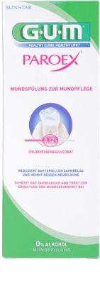 G.U.M Paroex elixir bucal antibacteriano para antes e após a cirurgia 2