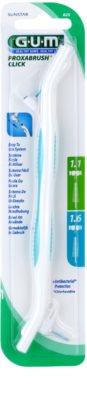 G.U.M Proxabrush Click soporte + recambio de cabezal interdental 2 uds