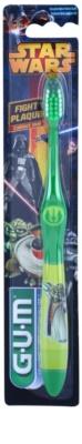 G.U.M Star Wars escova de dentes para crianças suave