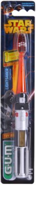 G.U.M Star Wars gyermek fogkefe villogó időzítővel puha