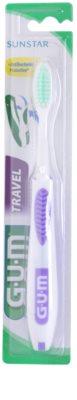 G.U.M Travel periuță de dinți pentru voiaj fin